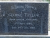 Himeville Cemetery - grave George Taylor)
