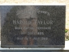 Himeville Cemetery - grave Harold Taylor