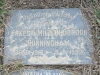 Himeville Cemetery - grave  Iris Ernest and Edwina Cunningham