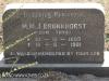 Himeville Cemetery - grave  MM Bronkhorst