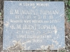 Himeville Cemetery - grave  Mary & Ken Topman