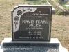 Himeville Cemetery - grave  Mavis Miles