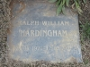 Himeville Cemetery - grave  Ralph Hardinham 2002