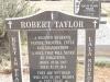 Himeville Cemetery - grave  Robert Taylor