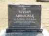 Himeville Cemetery - grave  Vivian Arbuckle