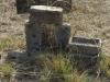 Himeville Cemetery - grave  desecrated