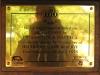 Hluhluwe - Hilltop Camp - 1995 Nelson Mandela opening plaque