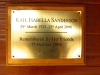 Hluhluwe - Munywaneni Bush Lodge - Kate Sanderson plaque (1)