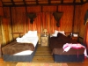 Hluhluwe - Munywaneni Bush Lodge - chalet interior