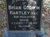 Howick St Lukes Church Grave Brian Godwin Hartley O.B.E (2)
