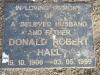 Howick St Lukes Church Grave Donald hall 1999