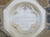 Howick St Lukes Church Grave Eustace Jacob - First Vicar