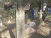 Howick St Lukes Church Grave not readable. (2)