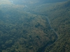 Umgeni Valley Nature Reserve WESSA - Umgeni valley from the air (1)
