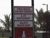 Ifafa Beach Resort signs (2)