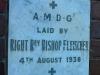 Umzumbe - Pumula - St Elmos Mission Plaque Rev Fleischer 1938