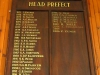 Ixopo High School  Honours Boards  Head Prefects Ellerton
