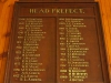 Ixopo High School  Honours Boards Head prefect