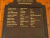 Ixopo High School  Honours Boards Springboks