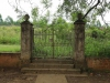 Ixopo - Mariethal Trappist Mission - old entrance gates to chapel -