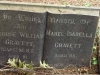 Ixopo - St Johns Anglican Church - Grave -  George & Mabel Gravett