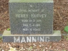 Ixopo - St Johns Anglican Church - Grave - Henry Harvy Manning - 1981 -