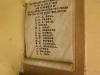 Ixopo - St Johns Anglican Church -  Roll of Honour - WWI