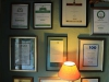 Kamberg - Cleopatra Mountain Lodge - award plaques - JPG (1)