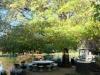 Kamberg - Cleopatra Mountain Lodge - lakeside seating (2)
