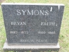 Karloof St Marks Church grave Bryan & Faith Symons