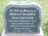 Karloof St Marks Church grave Bryan Harry Mackenzie