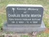 Karloof St Marks Church grave Charles Morton