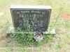 Karloof St Marks Church grave Elizebet Nellist 2002
