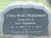 Karloof St Marks Church grave Ethel Parkinson
