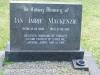Karloof St Marks Church grave Ian Mackenzie 1991