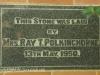 Kearsney College Chapel Mrs Ray Polkinghorn 1950 plaque