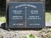 Kearsney Manor - Graveyard - grave -  John & Ada Millican