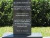 Kearsney Manor - Graveyard - grave - Margaret Hulett 2013