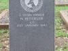 Ladysmith Garden of Remembrance Grave C 576012 Pvt N Petersen CC 1943