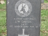 Ladysmith Garden of Remembrance Grave  Corporal Jw Davids IMC 1942