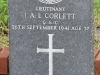 Ladysmith Garden of Remembrance Grave  Lt IAC Corlett GSC 1941