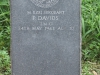 Ladysmith Garden of Remembrance Grave  M11221 Sgt p Davids IMC 1942