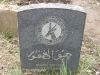 Ladysmith Garden of Remembrance Grave M11316 Pvt K Benjamin