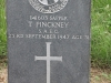 Ladysmith Garden of Remembrance Grave Sapper 141603 T Pinkney SAEC 1947)