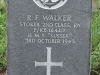 Ladysmith Garden of Remembrance Grave  Stoker 2nd Class RF Walker HMS Sussex 164217