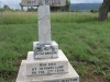Ladysmith - Intombi Camp Cemetery - Grave -  Captain S Mills 2nd Batt Rifle Brigade - 1900 -