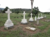 Ladysmith - Intombi Camp Cemetery - Grave - Grave line up photographed individually -