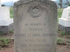 Ladysmith - Intombi Camp Cemetery - Grave -  Trooper Claude St John Maynard - Natal Police  - March 1900