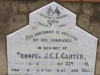 Ladysmith - Intombi Camp Cemetery - Grave - Trooper JCE Carter ILH Jan 22 1900