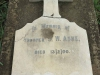 Ladysmith - Intombi Camp Cemetery - Grave - Trooper JW Ashe - 13 Feb 1900 -